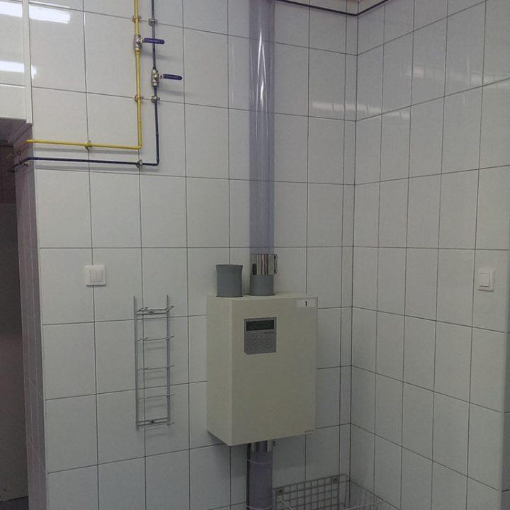 Станция пневмопочты Swisslog 110 мм в клинике 1 Мед