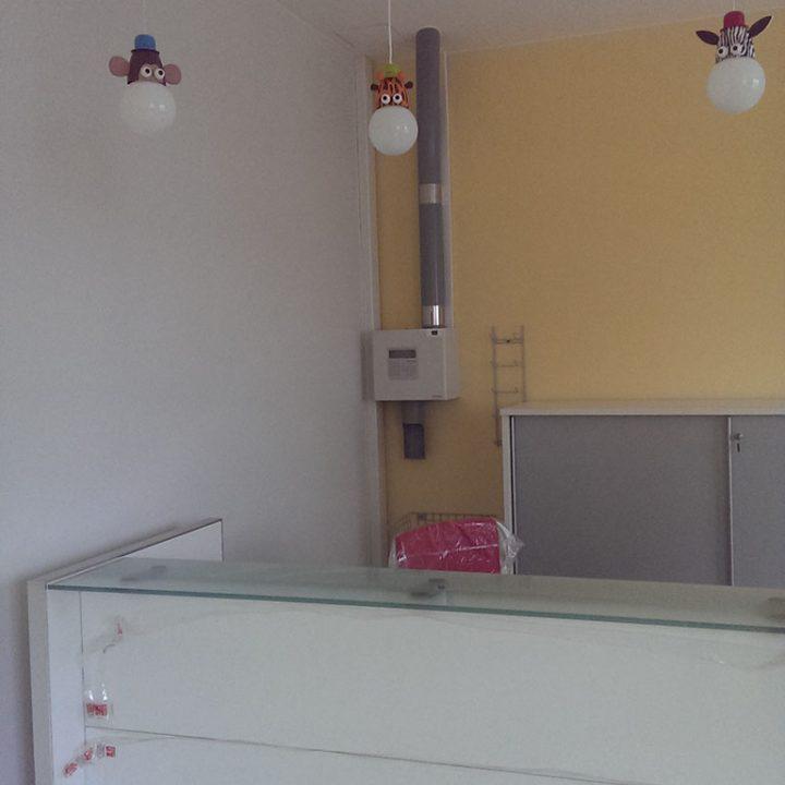 Станция пневмопочты Swisslog 110 мм в клинике Скандинавия
