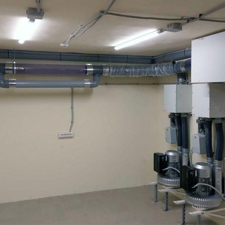 Воздуходувки системы пневмопочты Swisslog 160 мм в 1 Мед