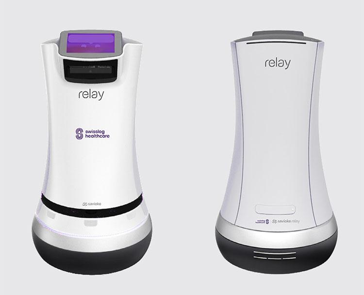 Внешний вид робота Relay Swisslog