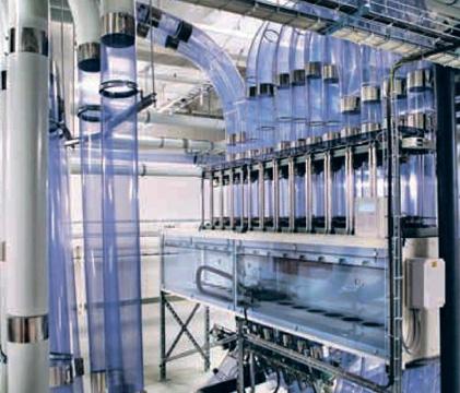 Пневмопочта в клинике Каролинского института в Худдинге (стоимость и рентабельность системы)